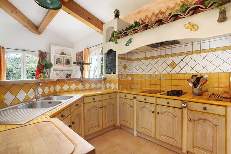 Maison traditionnelle à Velaux.